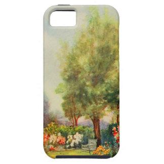 Arte del jardín del vintage - Steele, delegado de iPhone 5 Fundas