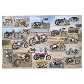 Arte del metal de la motocicleta del vintage