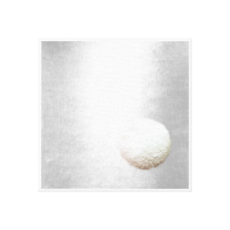 Arte del Minimalism de la bola de la nieve de las