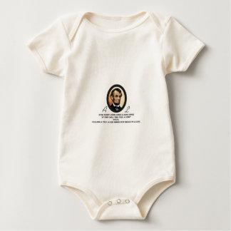 Arte del óvalo de Lincoln Body Para Bebé