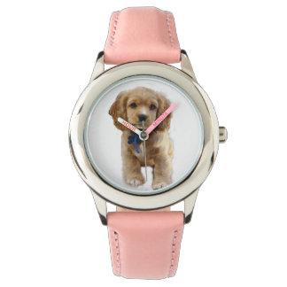 Arte del perrito reloj