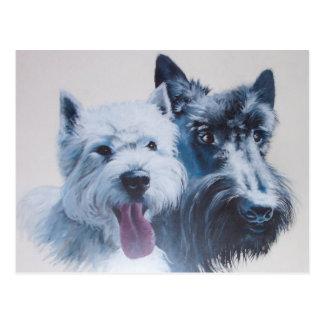 Arte del perro: Postal máxima