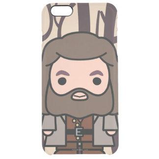 Arte del personaje de dibujos animados de Hagrid Funda Clear Para iPhone 6 Plus