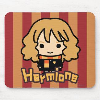Arte del personaje de dibujos animados de Hermione Alfombrilla De Ratón