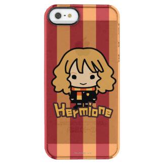 Arte del personaje de dibujos animados de Hermione Funda Clear Para iPhone SE/5/5s