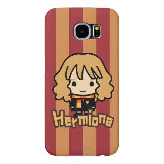 Arte del personaje de dibujos animados de Hermione Funda Samsung Galaxy S6