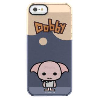 Arte del personaje de dibujos animados del Dobby Funda Clear Para iPhone SE/5/5s
