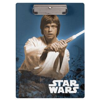 Arte del poster de Lucas Skywalker