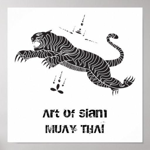 ARTE del poster de TAILANDIA