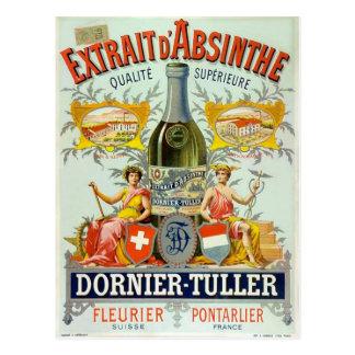 Arte del poster del vintage del d'Absinthe de Extr Tarjetas Postales