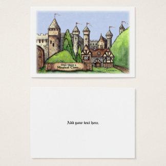 Arte del pueblo del renacimiento tarjeta de visita