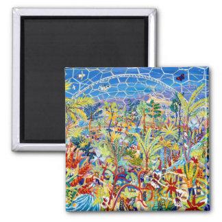 Arte del refrigerador: Jardín de Eden. El proyecto Imán