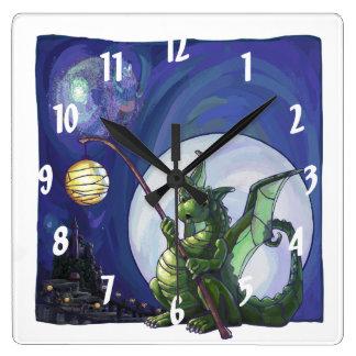 Arte del reloj del dragón