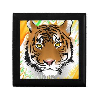 Arte del safari de selva de la naturaleza del parq caja de joyas