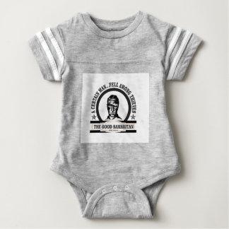 arte del samaritano del bw body para bebé