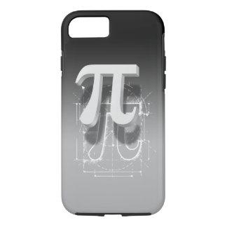 Arte del símbolo del pi funda iPhone 7