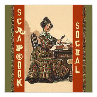 Arte del Social del fiesta de la invitación de Invitación 13,3 Cm X 13,3cm