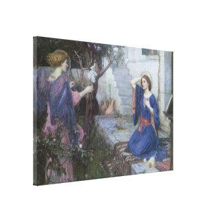 Arte del Victorian, anuncio por el Waterhouse de