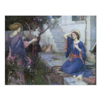 Arte del Victorian, anuncio por el Waterhouse de Postal