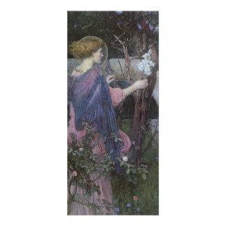 Arte del Victorian, anuncio por el Waterhouse de Tarjetas Publicitarias