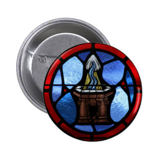 Arte del vitral del bautismo pin