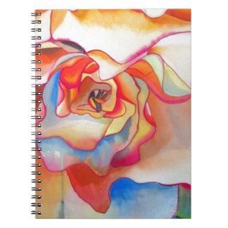 Arte del watercolour de la begonia de Fred Martin Cuaderno