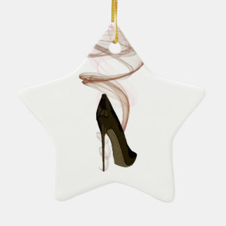 Arte del zapato del estilete de Smokin Ornaments Para Arbol De Navidad