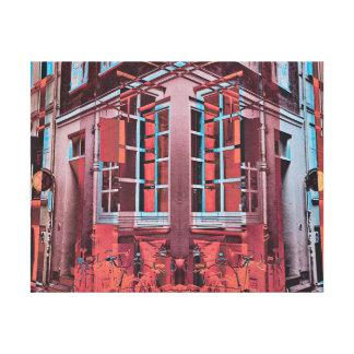 Arte digital de Copenhague de la reflexión azul