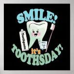 Arte divertido de la oficina del dentista impresiones
