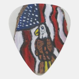 Arte dos de Eagle Uñeta De Guitarra