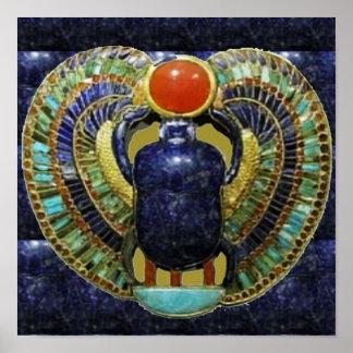 Arte EGIPCIO CÓSMICO espiritual del templo del