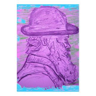 arte famoso del pintor tarjetas de visita grandes