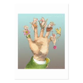 arte final del cerdo con el texto plantilla de tarjeta de negocio