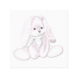 Arte flojo de la lona del bebé del conejito de la  impresiones de lienzo