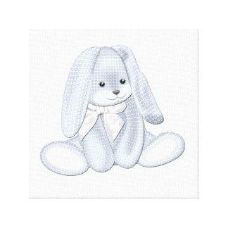 Arte flojo de la lona del bebé del conejito de la  lona estirada galerías