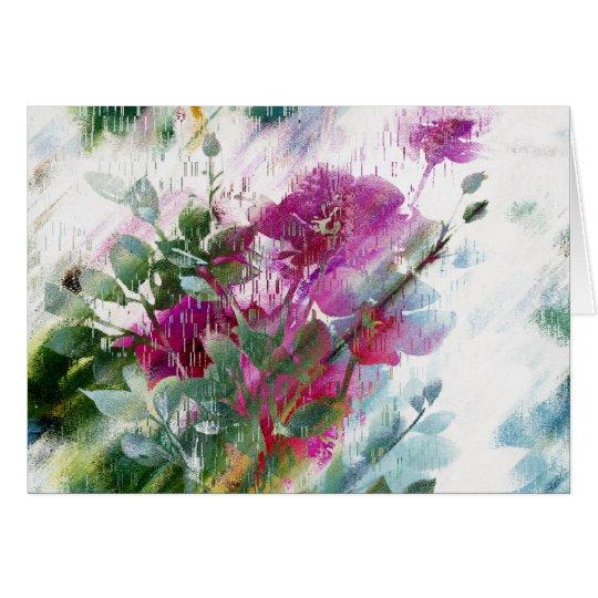 Arte floral bonito Notecards o tarjetas de