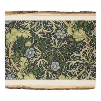 Arte floral del vintage del modelo de la alga