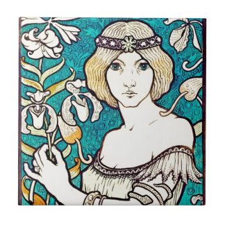 Arte francés Nouveau del centavo del DES del salón Tejas Ceramicas