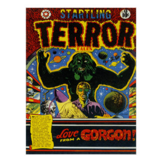 Arte fresco de la cubierta de cómic del vintage de posters