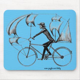 Arte fresco del dibujo de la tinta de la diversión alfombrilla de ratón