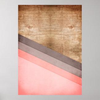 Arte geométrico de madera