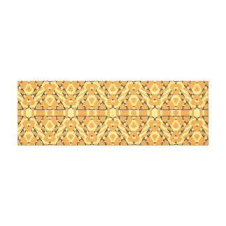 Arte geométrico horizontal largo de la pared del