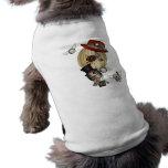 arte gótico del steampunk del globo del aire calie camiseta sin mangas para perro