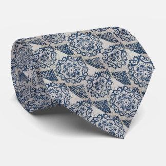 Arte gráfico fresco del círculo del batik corbata personalizada