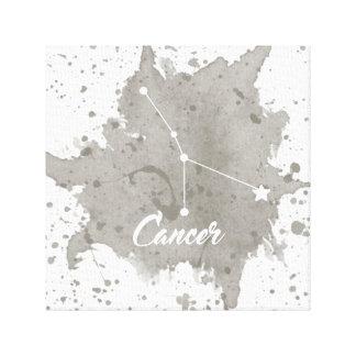 Arte gris de la pared del cáncer