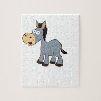 arte gris del caballo puzzle