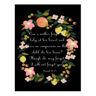 Arte inspirado cristiano - 49:15 de Isaías Postal