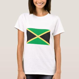 Arte jamaicano de la bandera camiseta