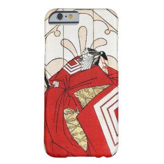 Arte legendario japonés fresco del guerrero del funda de iPhone 6 barely there