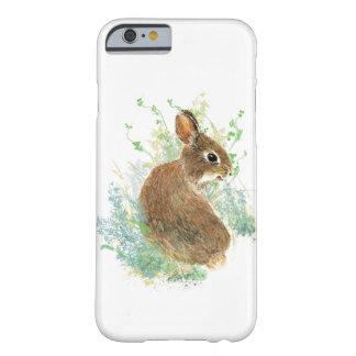 Arte lindo del animal del conejo de conejito de la funda de iPhone 6 barely there